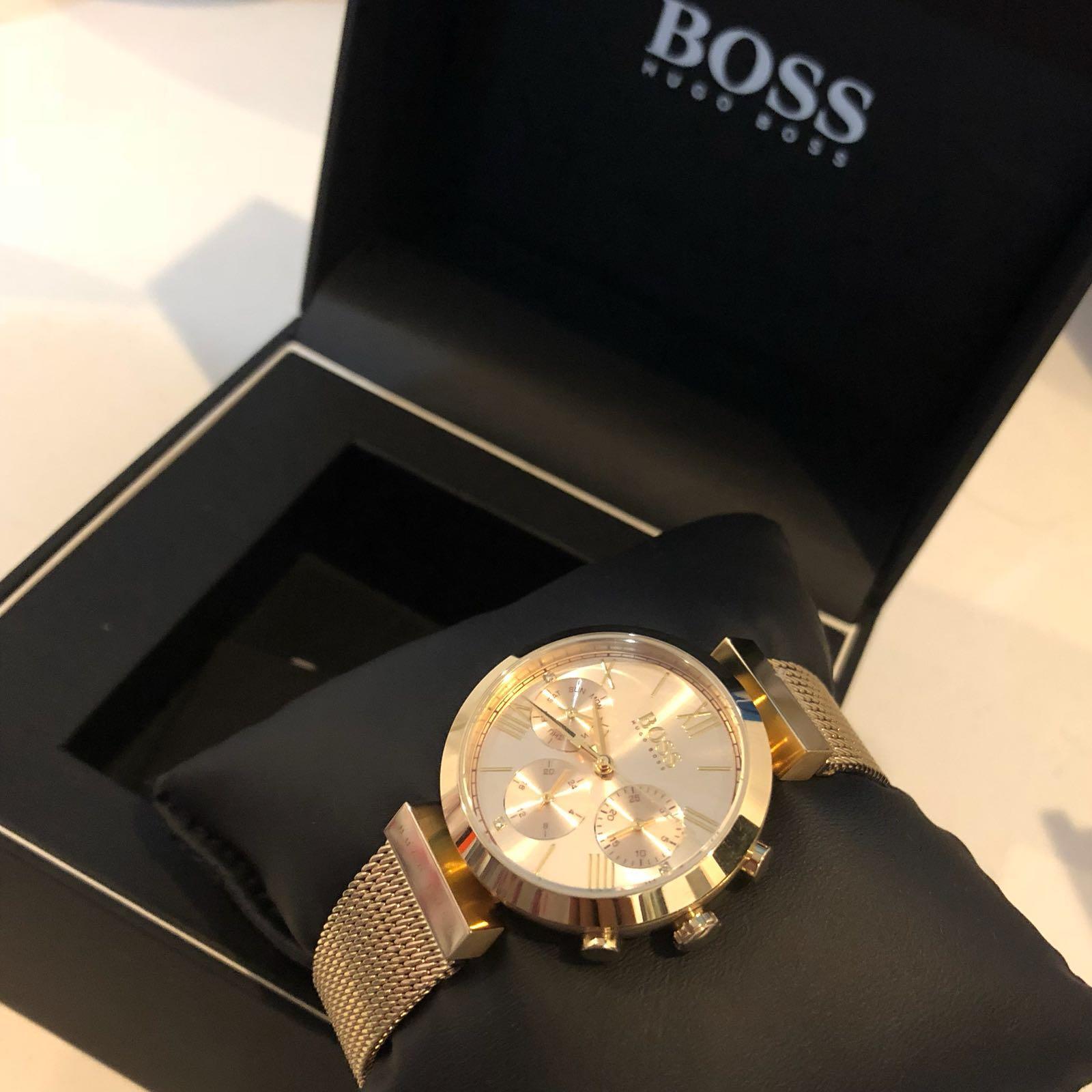 ساعة ماركة بووس أصلية (Boss)
