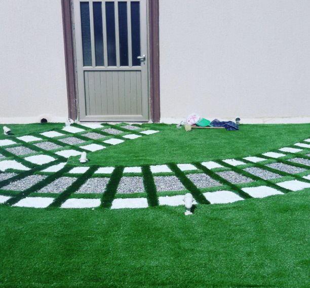 تنسيق وزراعة الحدائق الداخليه والخارجي