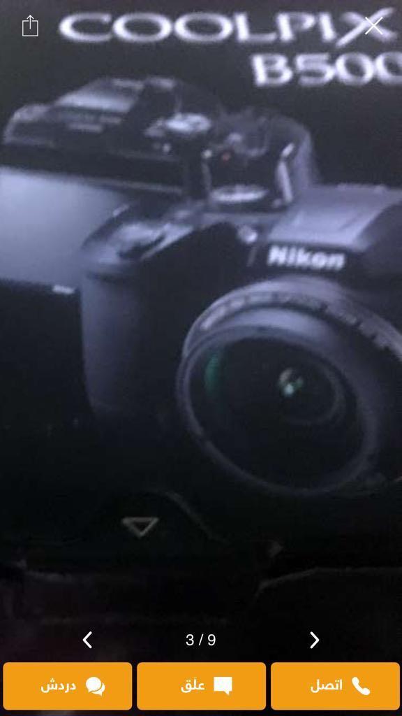 كاميره نيكون موديل5500