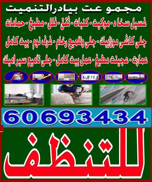 شركة مجموعة بيادر التنمية للتنظيف 60693434
