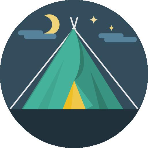 البر والمخيمات
